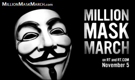 Million Mask March 2014 (Official Map)